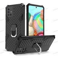 Hybrid Armor Ring Holder phone Cases Shockprook Anti-Fall cellphone Cover case For iPhone11 Samsung Note 20 Plus S20 Ultra A11 A01 a71 a51 Huawei P40 Lite Y9S