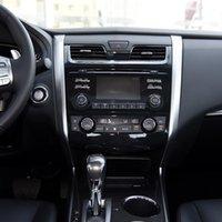 Pour Teana 2013 2014 2021 2021 Android Car Radio Multimedia Player GPS Navigation GPS Ruban de navigation 6GB + 128GB DVD de voiture
