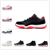 [Con scatola] 25 °  AIR JORDAN 11 RETRO LOW GS shoes Bred Bred Space Jam Mens Womens Basket Scarpe da basket Giubileo Gown Gamma Blue Jumpman Sneakers Scarpe ginnastica Scarpe