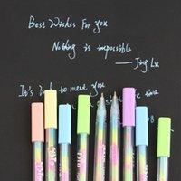 Gel Pens DIY Cute Kawaii Water Color Chalk Paint Pen For Kids Diary Decoration Scrapbooking Korean Stationery 0812
