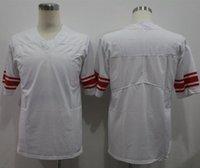 Jerseys personalizados profesionales Noticias York # 8 # 10 # 21 # 24 # 26 Logotipo bordado número y nombre Todos los colores Mens Football Jersey A1