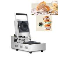 220v 110v Donut Ice Cream Krapfen Warmer Italy Gelato Panini Press Sandwich Maker hamburger Iron Press Maker