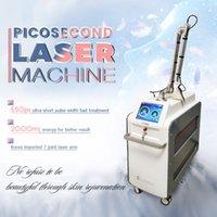 Vertical PicoSecond Laser Beauty Machine Tatouage Pigment Déploitation ACNE Scars Therapy High Power Puissance Spot Spot Tatouage