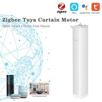 Smart Home Control Tuya ZigBee Intelligent Curtain Blind Switch Electric Motorized Roller Shutter Motor Compatible With Alexa Google