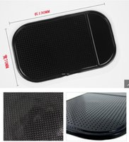 Telefone móvel Limited Slip Pad New carro esteira pegajoso pegajoso de carro aranha antiderrapante silicone tapete de silicone móvel deslizamento antiderrapante Mini pad hwc6620