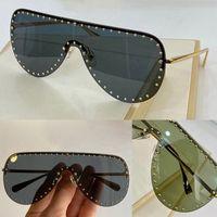 2230 Новые Продвинутые Мужчины и Женщины Солнцезащитные очки Мода Половина Рама УВ400 Ультрафиолетовые Защитные Очки Стимпанк Летний Овальный Стиль Отправить Ящик
