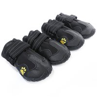 Dog Apparel dogs foot cover water repellent autumn and winter boots shoes 7 sizes 4 styles