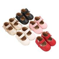 Первые ходунки роскошные мягкие кожаные детские предыдущие родины родились резиновые подошвы мокасины обувь обувь малышами мальчики девушки против скольжения