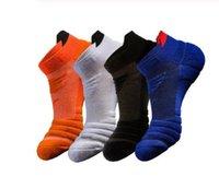 Çorap Koşu Erkekler Basketbol Nefes Anti Kayma Spor Koşu Bisiklet Yürüyüş Kadın Açık Çorap Pamuk Atletik Hiçbir Ter Çorap