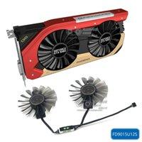 Nuovo originale per Gainward GTX1060 Phoenix Graphics Fan FD9015U12S DC12V 0.55A