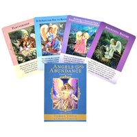 Classic Tarot Cards Angels Of Abundance Oracle Card And PDF Guidance Divination Deck Entertainment Parties Board Game 44PCS Box love YHWI
