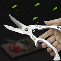 2021 Fashion Kitchen Scissors Kitchen-Knives Home Dinning Tools Powerful Stainless steel Scissor ZX-001
