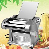 Coupe de machine de découpe de pâtes de pâtes en acier inoxydable Dumplings Dumplings de nouilles Machine à roulettes Spaghetti Roller Custoir