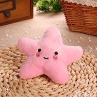 ABD hisse senedi DHL 3 renk sevimli denizyıldızı bebek çocuklar ve yetişkinler için pp pamuk malzeme dekompresyon peluş oyuncaklar