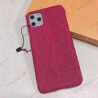 Верхняя мода жесткая оболочка роскошный телефон для телефона для iPhone 12 12PRO MAX 11 11PRO XS XR XSMAX 7/8 плюс высококачественный дизайнерский тисненный кожаный чехол для мобильного телефона с подвеской