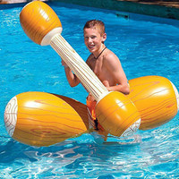 Life Vest & Buoy 4 Pcs Set Inflatable Swimming Pool Float Water Sports Bumper Play Fun Toy Game Ride Inflated Raft