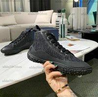 B28 Casual Schuhe Schwarz Blau Schrägdruck Stickerei Leinwand Männer Womens Designer Luxurys Schuh Marke Klassische High-Top-Plattform Sneakers-Trainer