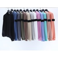 11 Colors Topstoney Mens Hoodies Island Candy Cp Hooded Sweatshirts Stones Men Casual Long Sleeve Couple Loose O-neck Sweatshirt