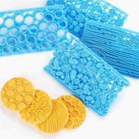 Baking Moulds Cute Fondant Cake Pastry Art Embossing Biscuit Cutter Decoration Decorating Mold Supplies Tools S8W4