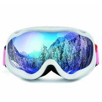 نظارات التزلج نظارات الثلوج نظارات الثلج الجليد زجاج طبقات مزدوجة مكافحة الضباب قناع كبير نظارات التزلج نظارات الرجال النساء obaolay wint jllusl insyard