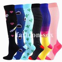 Men's Socks Compression Stockings Knee High Running Marathon Men Women Fit Pregnancy Edema Diabetes Varicose Veins