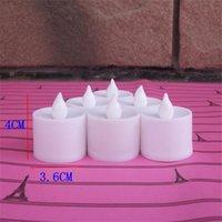 LED Mum Tealight Alevsiz Mum Çay Işık Renkli Pil Ameliyat Lamba Doğum Günü Düğün Parti Noel Dekorasyon Işık 239 S2