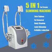 2021 portable Cryolipolysis fat freezing Slimming Machine Vacuum Suction cryotherapy cryo weight reduction equipment with lipo laser for spa salon use
