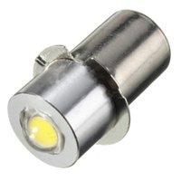 Bulbos LED bombilla de luz para la lámpara de la antorcha de la bicicleta interior Lámpara de alto brillo P13.5S PR2 1W 90LUMEN CALIENTE / BLANCO DC3-18V / DC18V