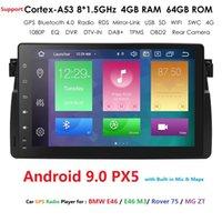 """DSP 9""""Screen Android 9.0 Car GPS for BMW E46 M3 318i 320i 325i MirrorLink No DVD auto multimedia Stereo Navi RDS DVR SWC BT SD"""