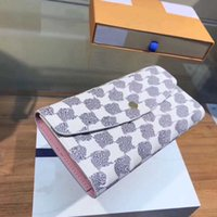 21ss Wallet Men and Women' s Wallets Letter Printing Lat...