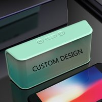 Personalised Logo Wireless Bluetooth Speaker Outdoor Portable Loudspeakers Sports Rechargeable Battery AUX TF FM Radio Computer B165