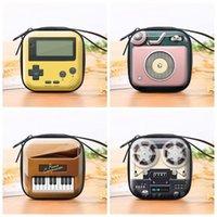 2021 어린이 휴가 창조적 인 선물 만화 실용 지갑 레트로 전기 소설 장난감