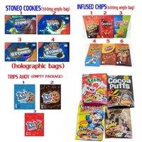 Libles Şeker Paketleme Çantası Stoneo Çerezler Gummies Infüze Cips Cheetos Canna Tereyağı Tahsileri Ahoyo İlaçlı Candys Paket
