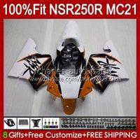 Injectie voor Honda NSR 250R NSR250 Dark Orange NSR 250 R 90 91 1992 1993 103HC.128 NSR250R MC21 PGM3 NSR250RR 1990 1991 92 93 OEM FACKING