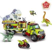 Idéias técnicas Especialista Jurassic Dinosaur Animal Park World 2 Blocos de Construção Dinossauro Brinquedos Brinquedos para Crianças Crianças Presente de Férias 210803