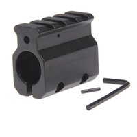 Einstellbarer Gasblock Single 20mm Picatinny Schienenmontage .223 LR-308 Barrel .750 \