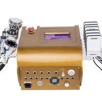 Новая многофункциональная кавитация 40K Ультразвуковая липосакция радиочастотный вакуумный биполярный станок для похудения красота CE / DHL
