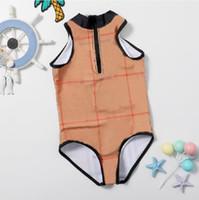 Çocuklar Giysileri Bikini Mayo Bodysuits Tulum Bebek Kız Çocuk Banyo Plaj Giymek Mayolar Yeni Kız Tek Parça Romper Yüzme