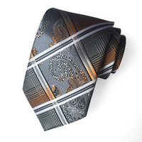 Jacquard Floral Stripes Business Suit Ties Neckties Neck Ties mens ties for Men Will and Sandy Drop Ship 705 B3