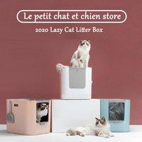 Andere kattenbenodigdheden boven- of zijkant ingang kattenbak voor huisdier grote capaciteit wc-lade gesloten splash lade stijl beddengoed training