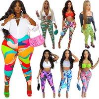 women Workout Sports Leggings Trouses Yoga Pants Gym Clothes Women Running Fitness High Waist Fashion Print Casual Legging