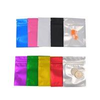 100pcs 12 * 18 cm Plastica Plastica Matte Mylar Foil Bag Blocco Zip Zip Lock Lacank Torta Ricebable Reusable Heat Self Sear Sea Suit Secco Sacchetti di frutta secca