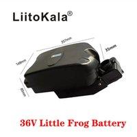 Liitokala 36V Battery Battery 10Ah 12Ah 15ah 20Ah 20ah Type de siège Type de grenouille Batterie de lithium, Scooter à vélo Portable Portable Equitation