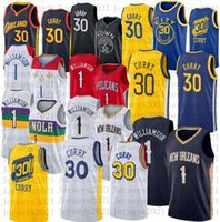 Mens Zion Basketball Jersey # 1 Williamson Stephen 30 Curry Stitched Jerseys