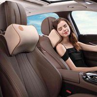 Car Headrest Neck Pillow Car Supplies Memory Cotton Waist Rest Cervical