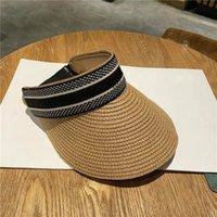 2021 Top Diseñador Visor Mujer Bucket Sun Hats Hombre Visor al aire libre Snapback Caps Beanie Hat Gorra de béisbol para el regalo Venta caliente