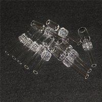 Кварцевые ногтей капельники курение нецеловые кварциты 10 мм 14 мм 18 мм мужского сустава для нектарных коллекционных стеклянных водных монтажных установок DHL