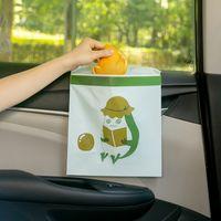 15 stücke Einweg Müllsack Stick an überall Leck-Proof Tragbare Müllbeutel für Autofahrzeug Büro Küche Bad Studieraum 773 K2