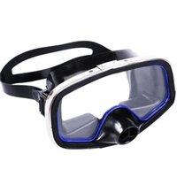 Masque de plongée lunettes adultes accessoire de plongée en surface trempé
