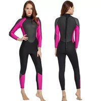 One-Piece Suits Sbart 3MM Neoprene Wetsuit For Women Spearfishing Diving Suit Separated Two Pieces Full Body Ladies Wet Surfing